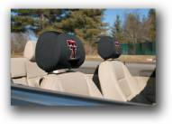 Texas Tech Red Raiders Premium Headrest Covers