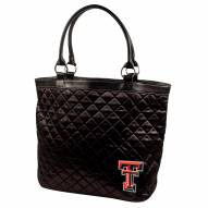 Texas Tech Red Raiders Quilted Tote Bag