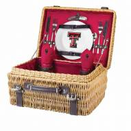 Texas Tech Red Raiders Red Champion Picnic Basket