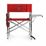 Texas Tech Red Raiders Red Sports Folding Chair