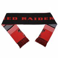 Texas Tech Red Raiders Split Logo Reverse Scarf