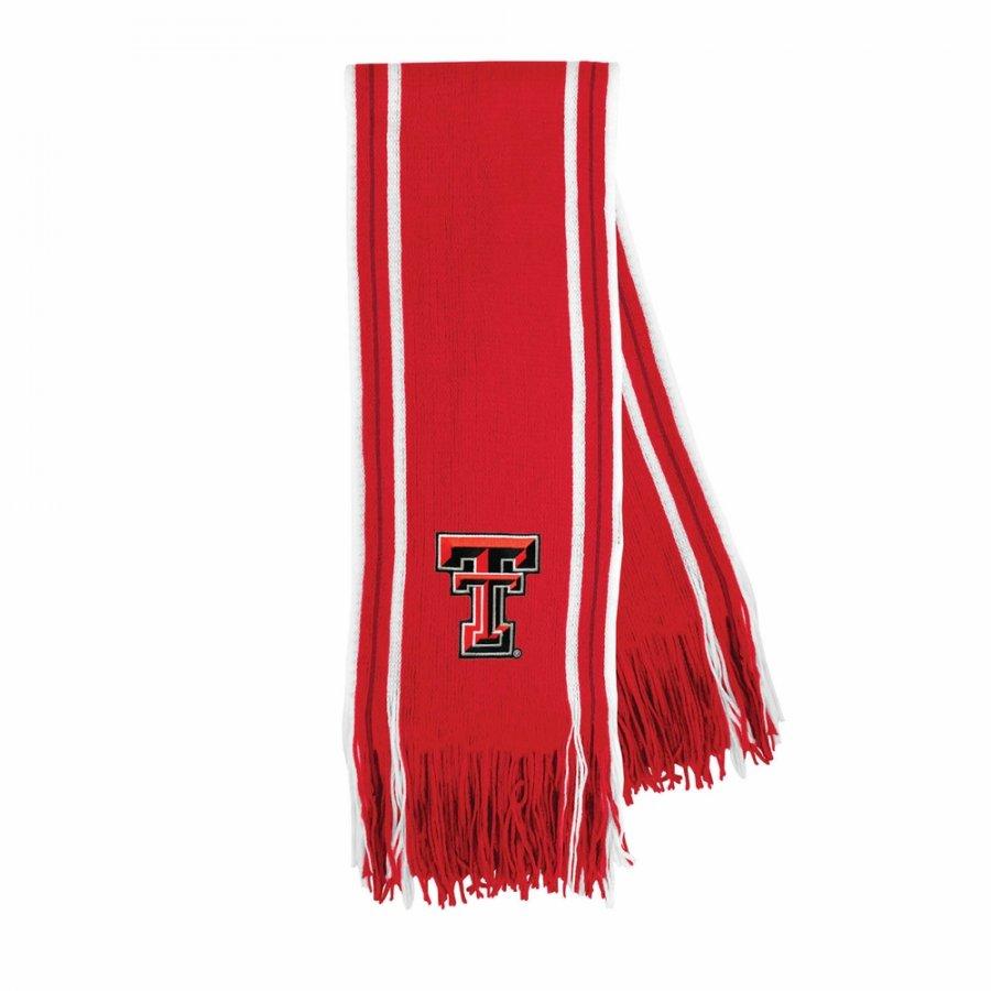 Texas Tech Red Raiders Stripe Fringe Scarf