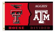 Texas Tech/Texas A&M 3' x 5' House Divided Flag