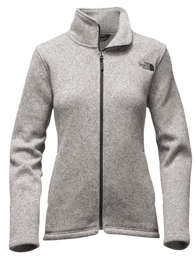 The North Face Custom Women's Crescent Full Zip Fleece Jacket
