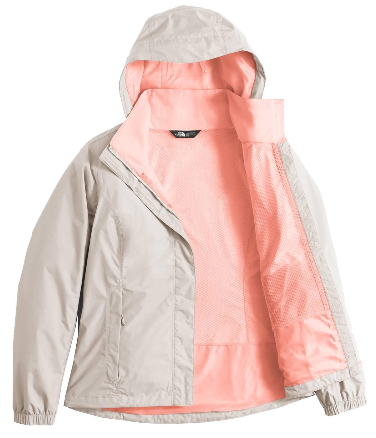 Womens north face resolve rain jacket