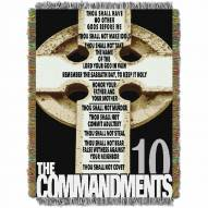The Ten Commandments Throw Blanket