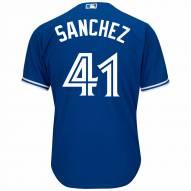 Toronto Blue Jays Aaron Sanchez Replica Bright Royal Alternate Baseball Jersey