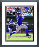 Toronto Blue Jays Brett Lawrie 2014 Action Framed Photo