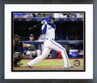 Toronto Blue Jays Dalton Pompey 2014 Action Framed Photo