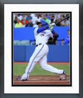 Toronto Blue Jays Edwin Encarnacion 2014 Action Framed Photo