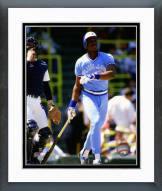 Toronto Blue Jays Fred McGriff 1986 Action Framed Photo