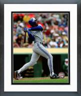 Toronto Blue Jays Fred McGriff 1990 Action Framed Photo