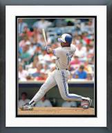 Toronto Blue Jays Fred McGriff Action Framed Photo
