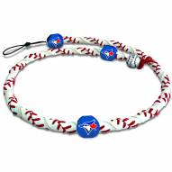Toronto Blue Jays Frozen Rope Baseball Necklace