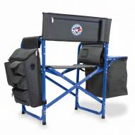 Toronto Blue Jays Gray/Blue Fusion Folding Chair