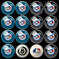 Toronto Blue Jays MLB Home vs. Away Pool Ball Set