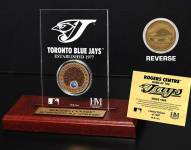 Toronto Blue Jays Infield Dirt Etched Acrylic