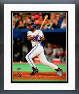 Toronto Blue Jays Joe Carter 1993 World Series Action Framed Photo