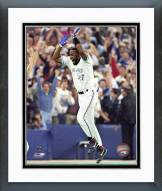 Toronto Blue Jays Joe Carter 1993 World Series Framed Photo