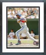Toronto Blue Jays Joe Carter Action Framed Photo