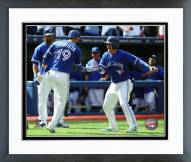 Toronto Blue Jays Jose Bautista & Josh Donaldson 2015 Framed Photo