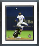 Toronto Blue Jays Jose Reyes 2015 Action Framed Photo