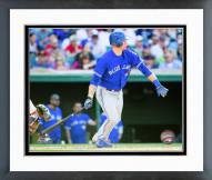 Toronto Blue Jays Michael Saunders 2015 Action Framed Photo