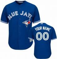 Toronto Blue Jays Personalized Replica Bright Royal Alternate Baseball Jersey
