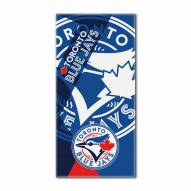 Toronto Blue Jays Puzzle Beach Towel