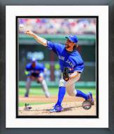 Toronto Blue Jays R.A. Dickey 2014 Action Framed Photo