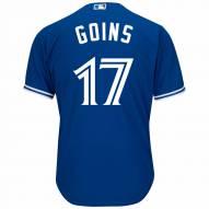 Toronto Blue Jays Ryan Goins Replica Bright Royal Alternate Baseball Jersey