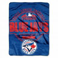 Toronto Blue Jays Triple Play Throw Blanket
