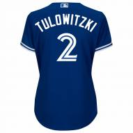 Toronto Blue Jays Troy Tulowitzki Women's Replica Bright Royal Alternate Baseball Jersey