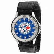 Toronto Blue Jays Veteran Velcro Mens Watch