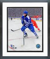 Toronto Maple Leafs Jake Gardiner 2014 NHL Winter Classic Framed Photo