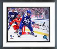Toronto Maple Leafs Joffrey Lupul 2014 Winter Classic Framed Photo