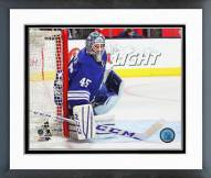 Toronto Maple Leafs Jonathan Bernier 2014-15 Action Framed Photo