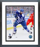 Toronto Maple Leafs Nazem Kadri 2014 NHL Winter Classic Framed Photo