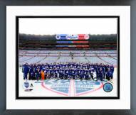 Toronto Maple Leafs Team Photo 2014 NHL Winter Classic Framed Photo