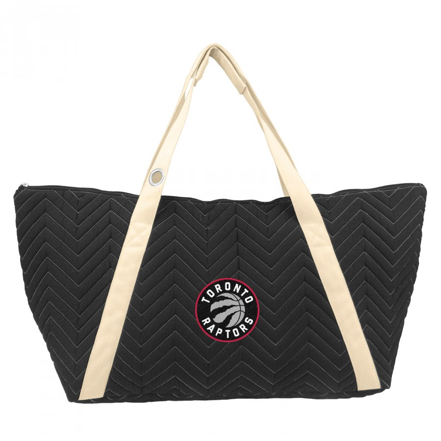 Toronto Raptors Chevron Stitch Weekender Bag
