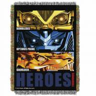 Transformers 4 Throw Blanket