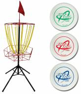 Triumph Disc Golf Target with 3 Discs