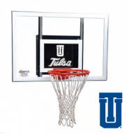 Tulsa Golden Hurricane Goalsetter Junior Wall Mount Basketball Hoop
