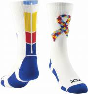 Twin City Autism Ribbon Crew Socks