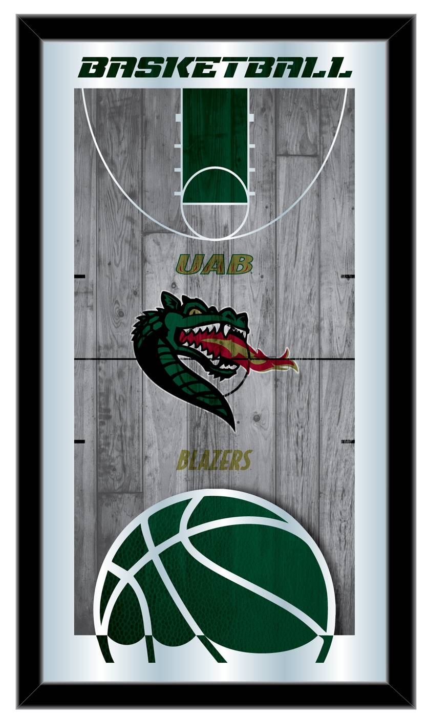 Uab Blazers Basketball Mirror