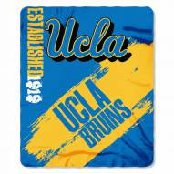 UCLA Bruins Painted Fleece Blanket