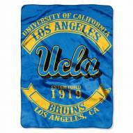 UCLA Bruins Rebel Raschel Throw Blanket