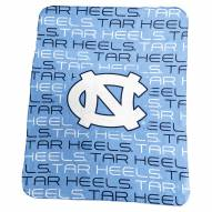 UNC Tarheels NCAA Classic Fleece Blanket