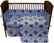 UNC Tarheels NCAA Baby Crib Set