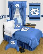 North Carolina Tar Heels Jersey Comforter & Sheet Complete Bedding Set